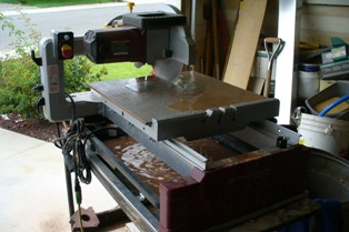 CWLLC Tile Saw