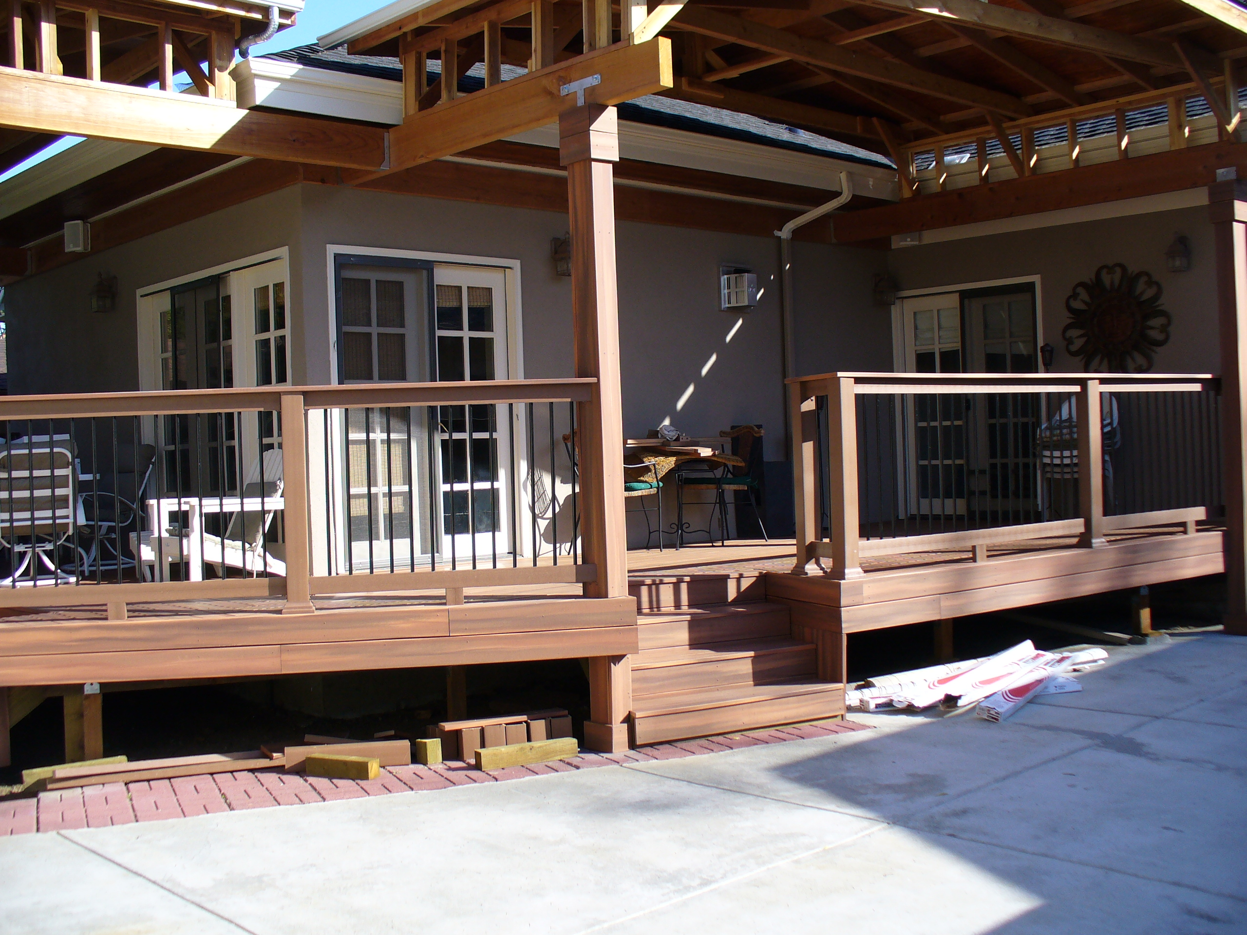 may create awning awnings deck