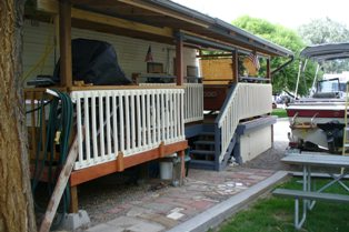 R's Deck, Awning, & Storage