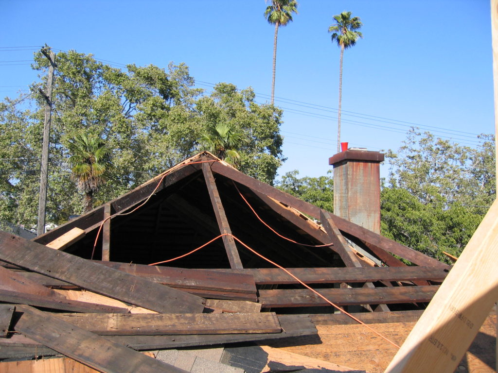 Den's Old Roof Demo 4 Tie-Ins