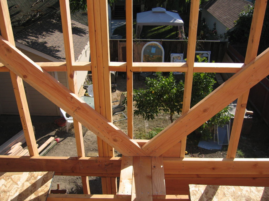 Den's Rafter Bracing @ New Gable End