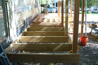R's Deck Framing